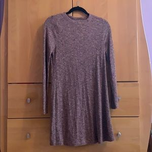 Long Sleeve Dress by Topshop